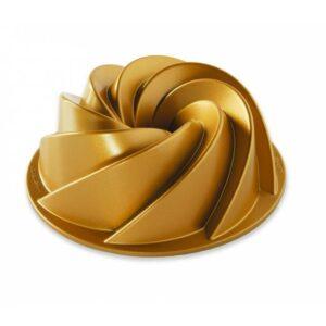 Forma na bábovku HERITAGE, zlatá, střední, 1,4L