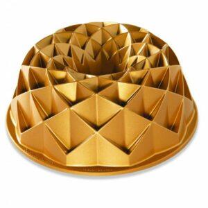 Forma na bábovku NORDIC WARE JUBILEE, zlatá, 2,3 L