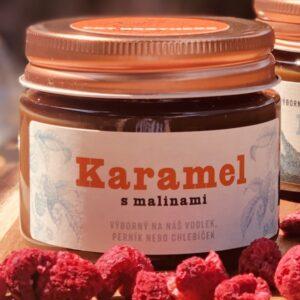 Malinový karamel