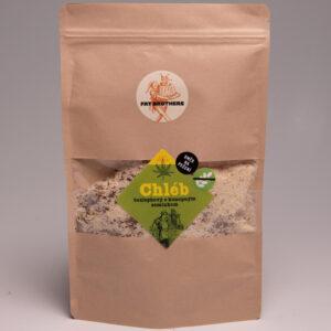 Bezlepkový chléb s konopným semínkem a mandlovou moukou